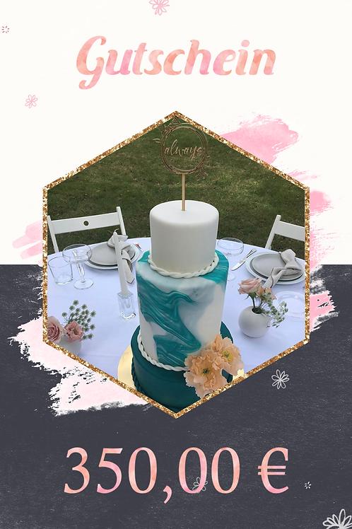 Gutschein Hochzeitstorte