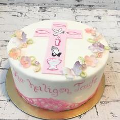 #taufe #handwerk #cake #fondantcake #ilo