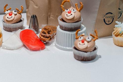 Winterliche Cup Cakes
