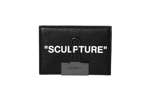 Off-White Sculpture Cardholder