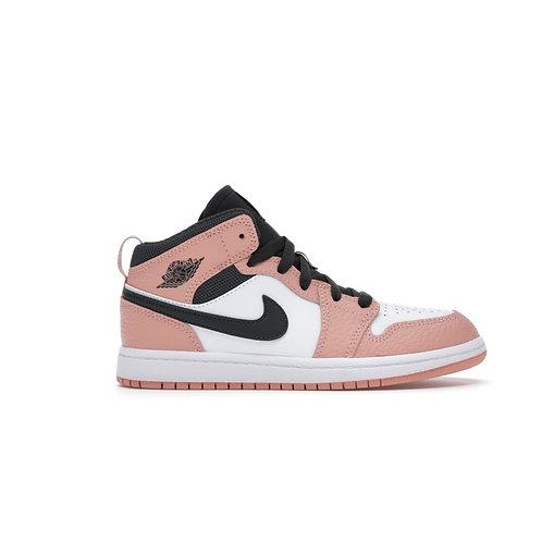 Jordan 1 Mid Pink Quartz(PS)