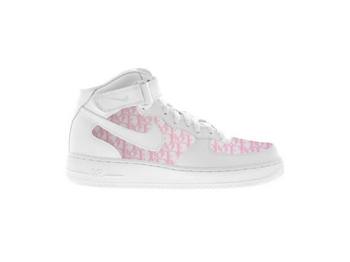 Nike Air Force 1 Mid Pink Dior