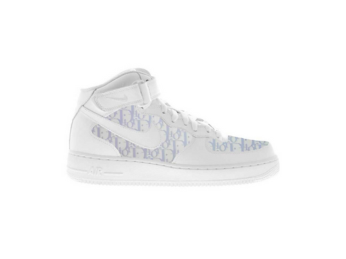 Nike Air Force 1 Mid Light Blue Dior