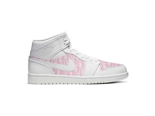 Nike Air Jordan 1 Pink Dior