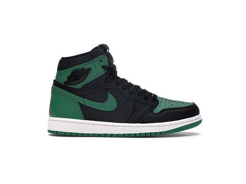 Air Jordan 1 Pine Green Black