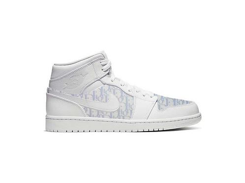 Nike Air Jordan 1 Light Blue Dior