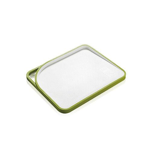 瑞典【GREEGREEN】防溢漏雙面分類塑膠砧板 好拿型(13吋)