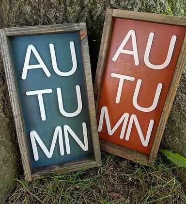 3D Autumn