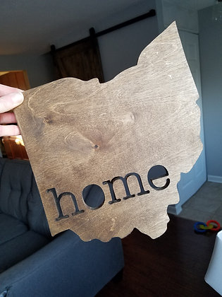 Ohio Home Cutout
