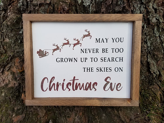 Search the skies on Christmas Eve