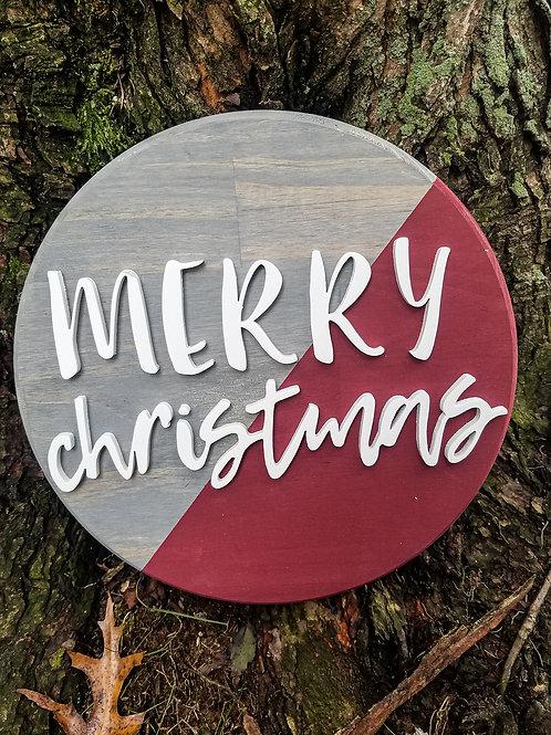Merry Christmas Round