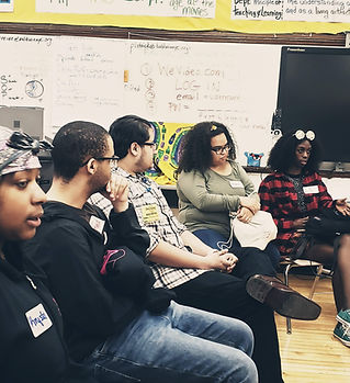 Students discuss