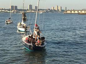 Sailors on the Hudson