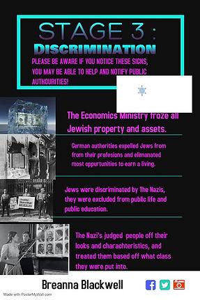 Genocide PSA poster