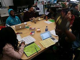 Class at Baldwin