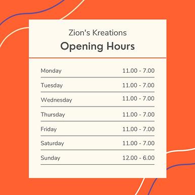 Bakery Shop Opening Hours Instagram Post