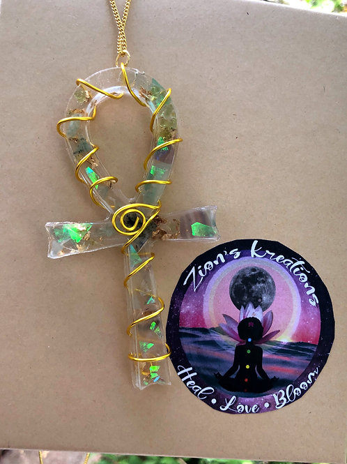 Resin Orgone Innergy Ankh