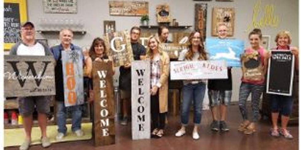 DIY Board & Brush Workshop Fundraiser