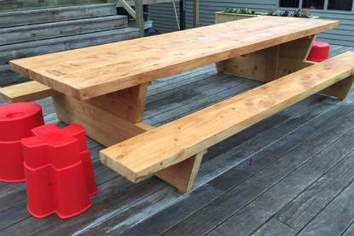 3 INCH Mac BBQ Style Table