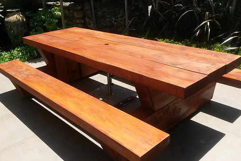 4 INCH Mac BBQ Style Table
