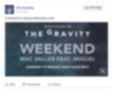 The Gravity Desktop Social Media Post