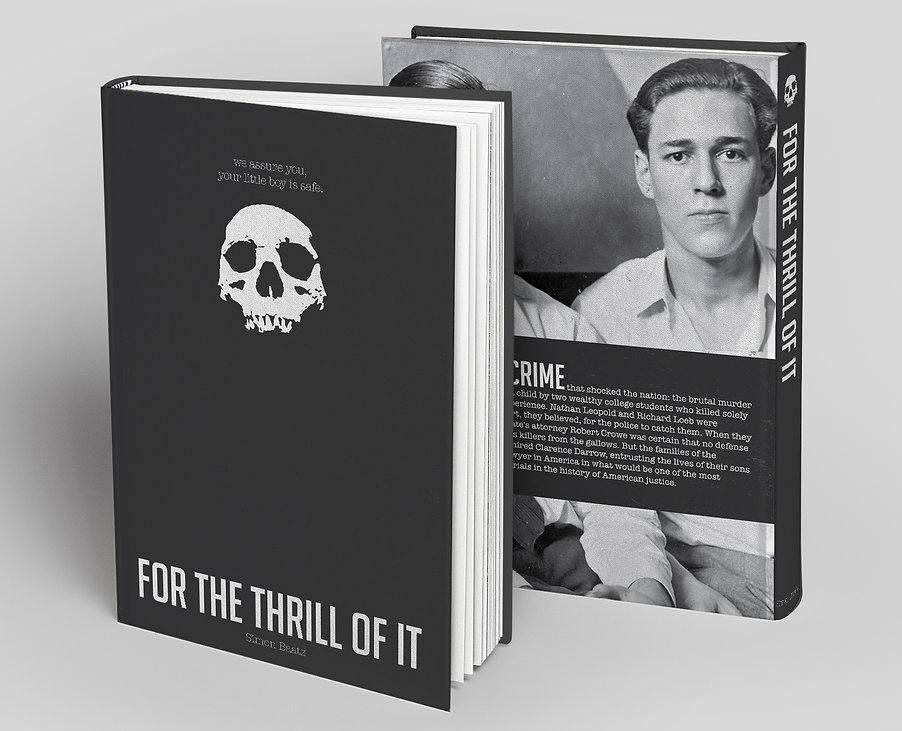 Mockup for For The Thrill of It