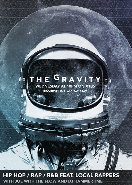 The Gravity Poster and Newspaper Ad