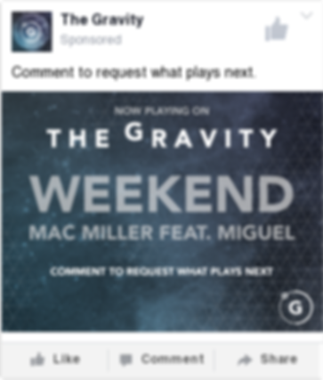 The Gravity Mobile Social Media Post