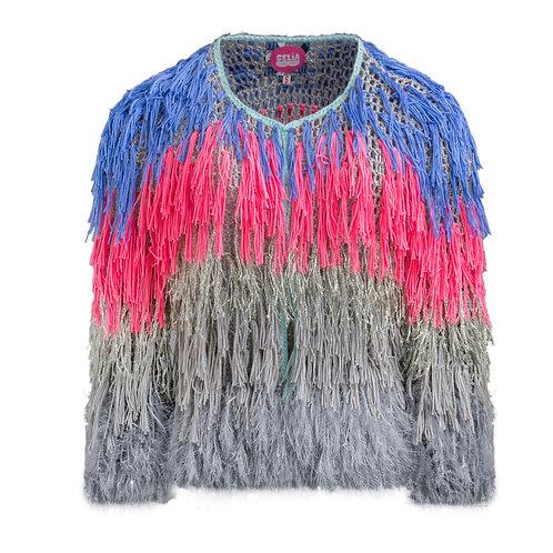 Tricolor monster jacket