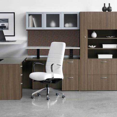 Canvas/Gesso Height Adjustable Desks