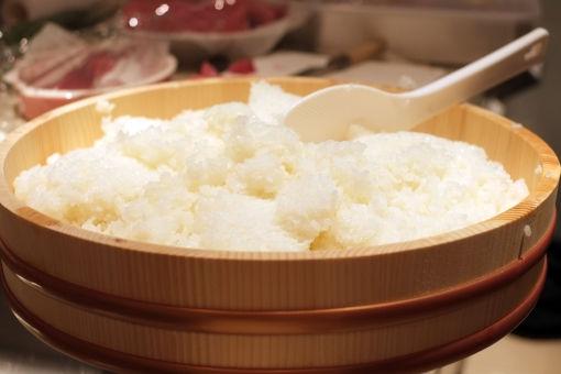 お米はコシヒカリを使用しています。
