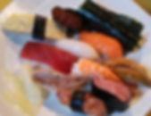 握り寿司10貫+手巻き1本 1200円
