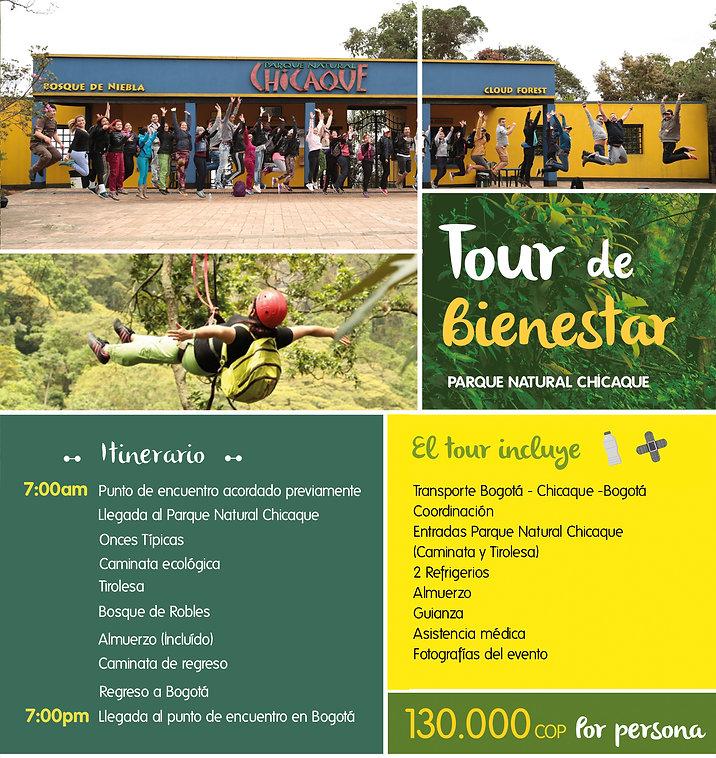 Tour empresarial de bienestar Chicaque