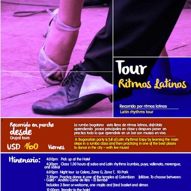 Tour Ritmos Latinos