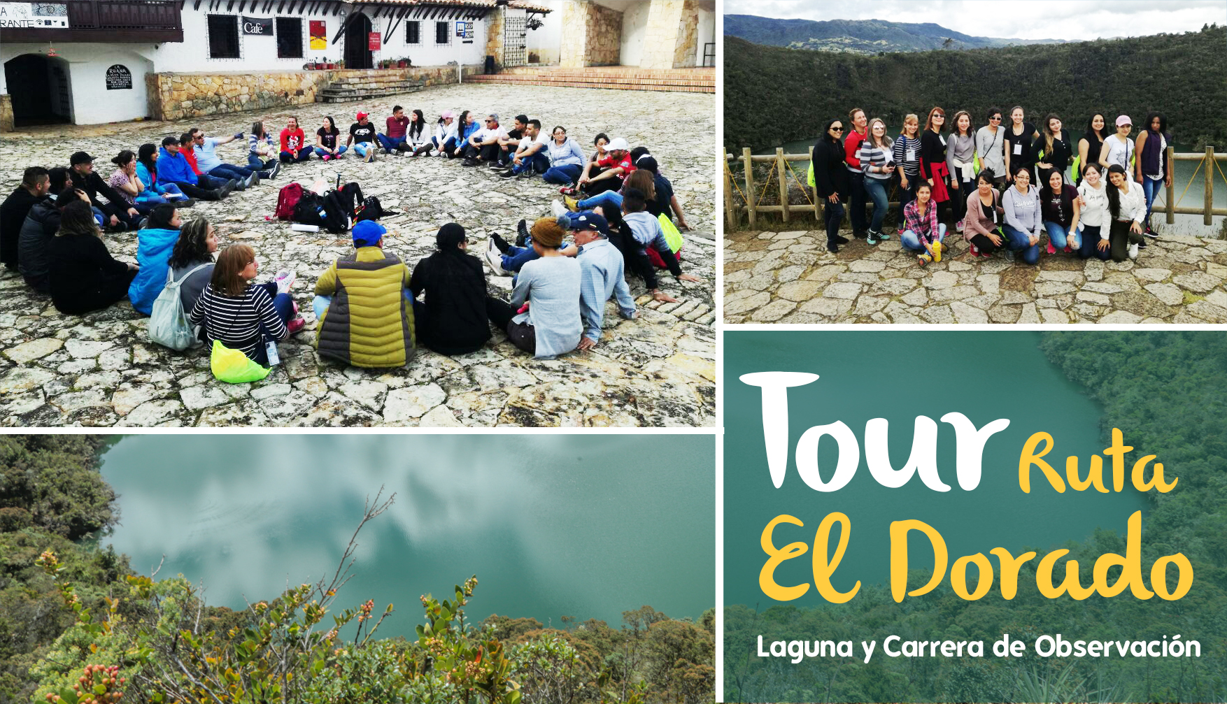Tour de bienestar Guatavita Ruta El