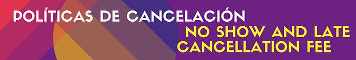 Políticas de Cancelación