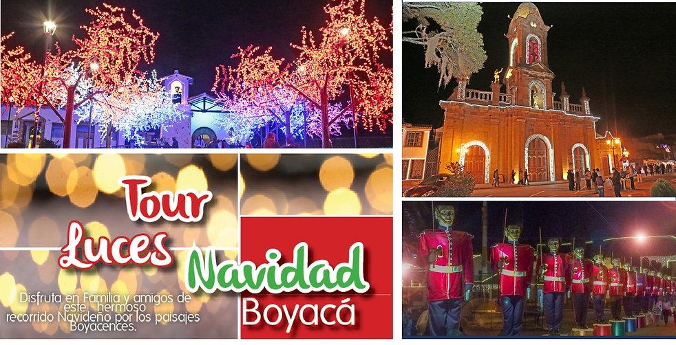 Tour Luces de Navidad Boyacá