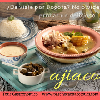 ¿Que comer en Bogotá? Ajiaco!