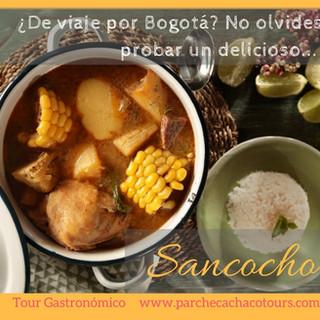 ¿Que comer en Bogotá? Que tal un sancocho!