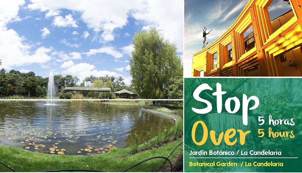 STOP OVER Jardín Botánico