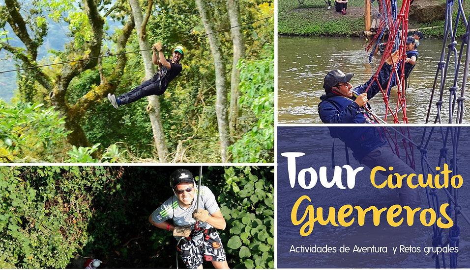 TOUR  EMPRESARIAL CIRCUITO GUERREROS AVENTURA
