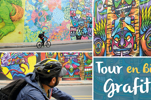 Tour en Bici Graffiti / Graffiti Tour