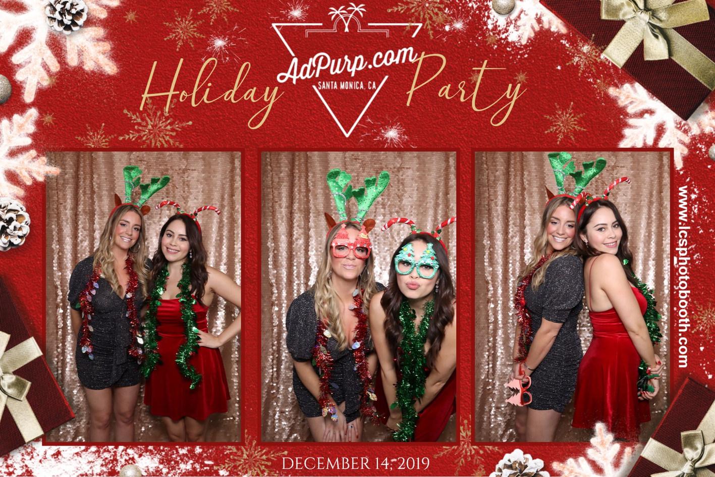 Holiday Party Hollywood, Ca