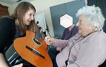 Alzheimer personnes âgées troubles cognitifs musicothérapie Haut Jura