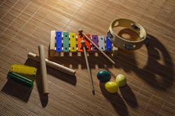 Petites percussions et harmonicas