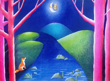 Hooting And The Moon