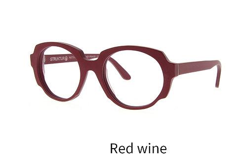 Lunettes de vue - The darling - acétate mat red wine