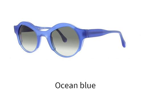 Lunettes de soleil - The Moonstruck - Acétate ocean blue