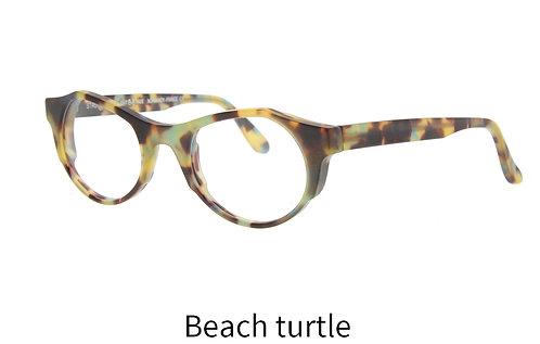 Lunettes de vue - The Quiet spirit - Acétate mat beach turtle