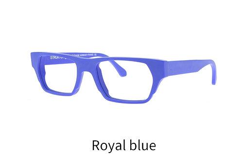 Lunettes de vue - The Miami - Acétate mat royal blue